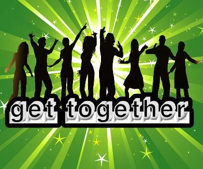 Social campaigns for get together